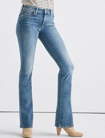 Lucky Brand Ava Mid Rise Boot Jean