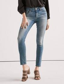 Lucky Brand Ava Mid Rise Skinny Jean In Rocky Rive