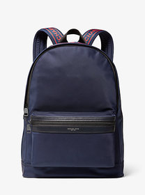 Michael Kors Kent Logo Tape Nylon Backpack