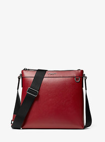 Michael Kors Harrison Crossgrain Leather Crossbody