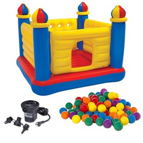 Intex Kids Inflatable Jump-O-Lene Ball Pit Castle
