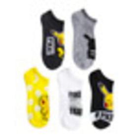 5 Pack Pikachu Socks for Collectibles