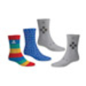 3 Pack Playstation Socks for Collectibles