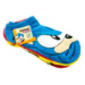 Sonic The Hedgehog Socks 5 Pack for Collectibles