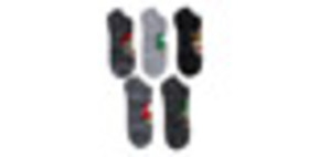 Super Mario Bros. Gray Socks 5 Pack for Collectibl