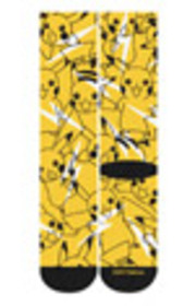 Pokemon Pikachu Bolted Socks for Collectibles