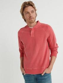 Lucky Brand Reverse French T Henley