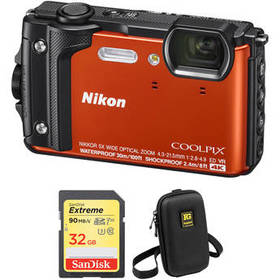 Nikon COOLPIX W300 Digital Camera with Accessory K