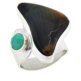 Jay King Sterling Silver Brockman Jasper and Chrys