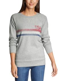 Women's Legend Wash Crew Sweatshirt - USA Stri