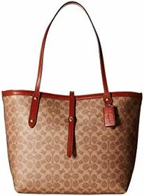 COACH Market Tote in Coated Canvas Signature