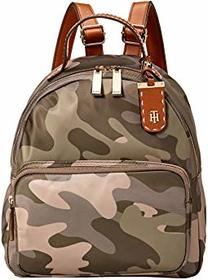 Tommy Hilfiger Julia Dome Camo Nylon Backpack