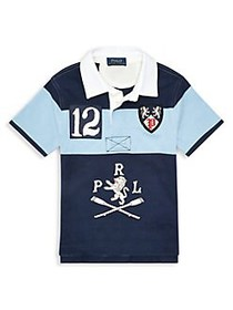 Ralph Lauren Childrenswear Little Boy's Cotton Gra