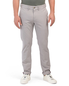 BEN SHERMAN Script Stretch Chino Pants