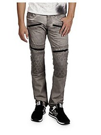 Cult Of Individuality Rebel Cotton Moto Pants CLAY