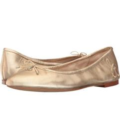 Sam Edelman Molten Gold Soft Metallic Sheep Leathe