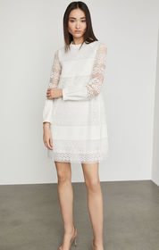 BCBG Circle Lace Shift Dress