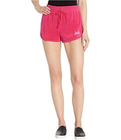 Juicy Couture Juicy A Gogo Microterry Logo Shorts