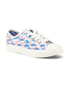 JULIEN DAVID Lace Up Sneakers
