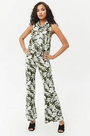 Forever21 Tropical Floral Print Tank Top