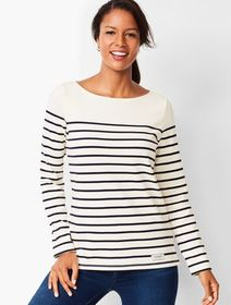 Talbots Authentic Talbots Tee- Stripe