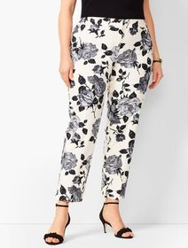 Talbots Plus Size Tailored Hampshire Ankle Pants -