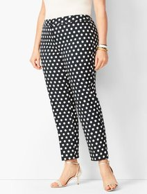 Talbots Plus Size Dot Jacquard Tailored Hampshire
