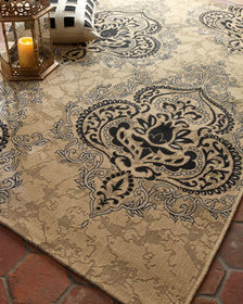 Safavieh Outdoor Damask Rug 8' x 11'2