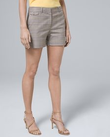 5-Inch Luxe Suiting Plaid Shorts
