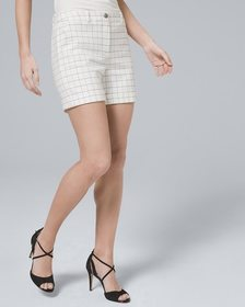 5-Inch Luxe Suiting Windowpane Shorts