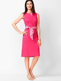 Talbots Textured A-Line Dress