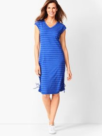 Talbots Terry Shift Dress