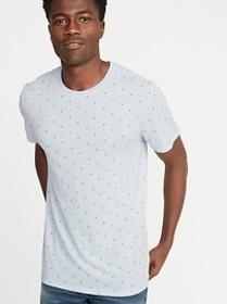 Printed Soft-Washed Tee for Men
