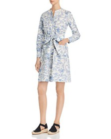Tory Burch - Printed Shirt Dress