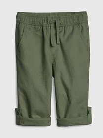 Toddler Roll-Up Pants In Linen
