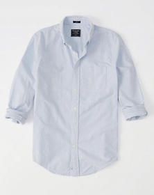 Oxford Shirt, Light Blue Stripe