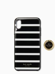 stability ring and stripe resin iphone xs max case