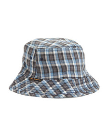 BEN SHERMAN Reversible Checkered Bucket Hat
