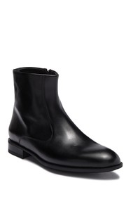 M by Bruno Magli Ipolito Leather Zip Boot