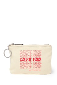 Rebecca Minkoff Betty Love You Zip Pouch