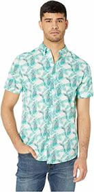Ben Sherman Short Sleeve Palm Leaf Print Shirt