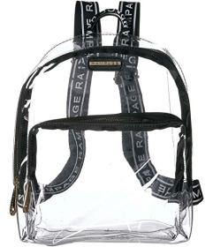 Rampage Clear Backpack with Drawstring