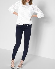7 For All Mankind b(air) Denim Ankle Skinny in Rin