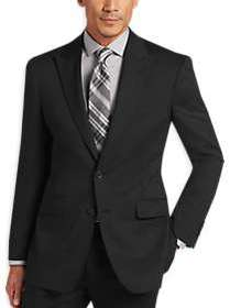 Awearness Kenneth Cole Black Slim Fit Suit