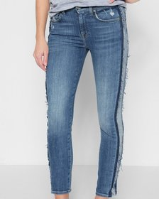7 For All Mankind Roxanne Ankle with Reverse Fray