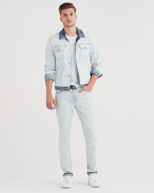 7 For All Mankind Paxtyn Slim With Clean Pocket In