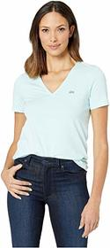 Lacoste Short Sleeve Classic Supple Jersey V-Neck
