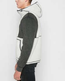 7 For All Mankind Polar Fleece Pullover in Heather