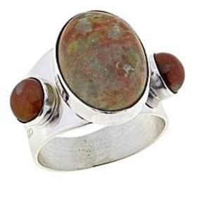 Jay King Honeycomb Serpentine Sterling Silver Ring