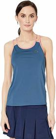 Lacoste Stretch Technical Jersey Tennis Tank Top